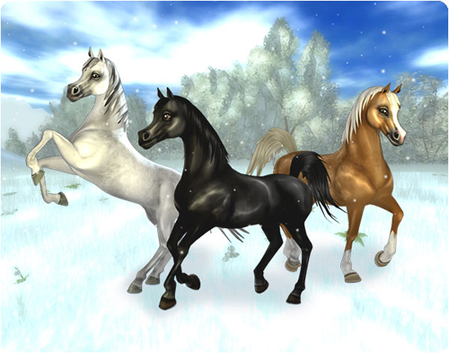 Star Stable Arabian Horses
