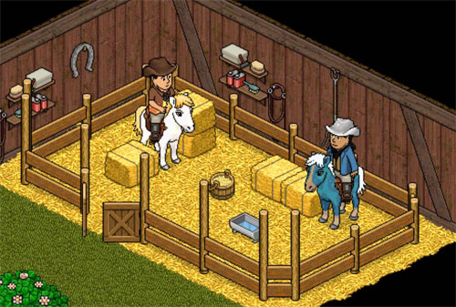 Stables for Habbo Hotel