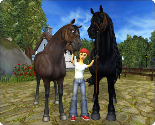 Star Stable Friesian Horses