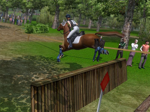 Horse Jumping 3D - A Free Girl Game on GirlsGoGames.com