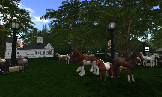 Country Stable in Second Life