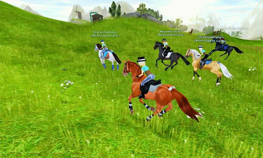 Ride with Friends in Star Stable