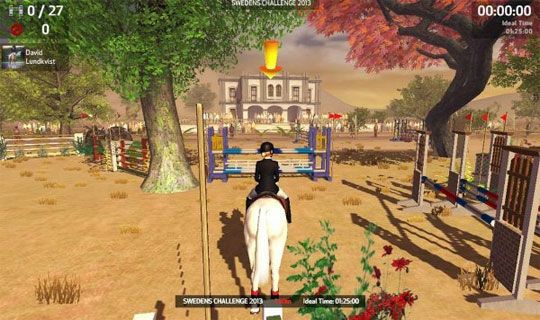Beautiful Locations in Riding Club Championships