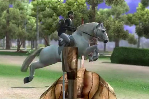 Amazing Jump in Ride: Equestrian Simulation