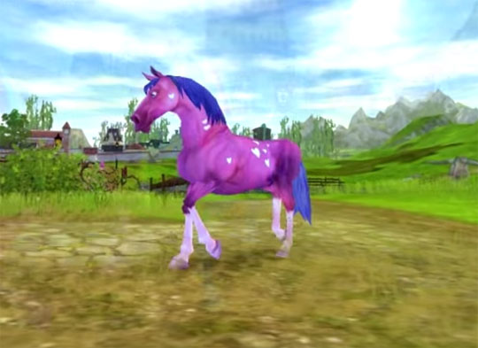 Amazing Colored Horses in Star Stable