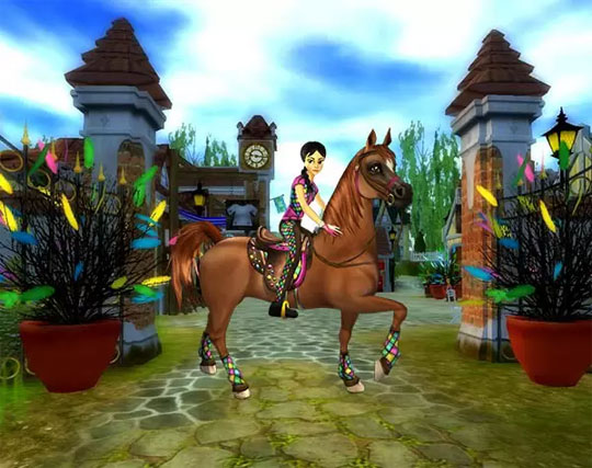 Enjoy Easter in the Brilliant Star Stable