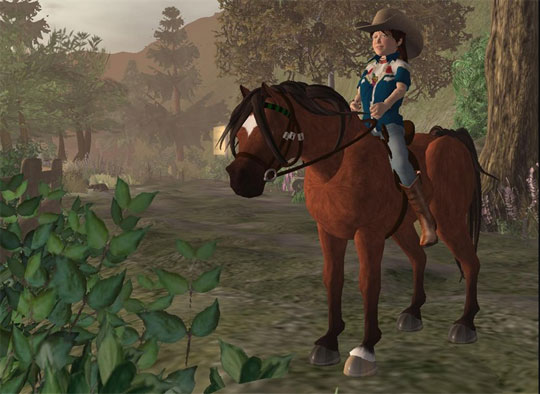 Become a Cowboy in Second Life