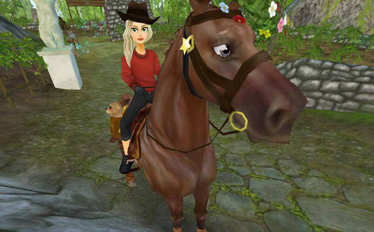 The Cowgirl Look in Star Stable