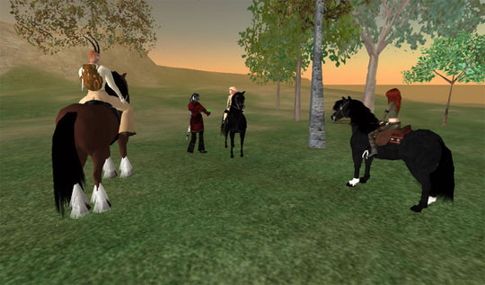 Fun Countryside Ride in Second Life