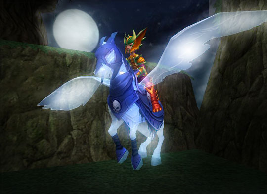 Amazing Ghost Horse in Wizard 101