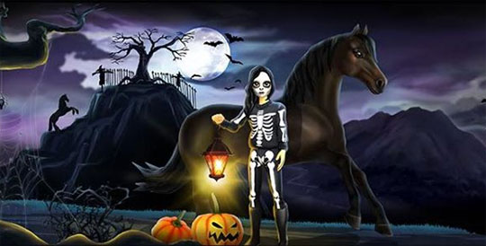 Celebrate Halloween in Star Stable