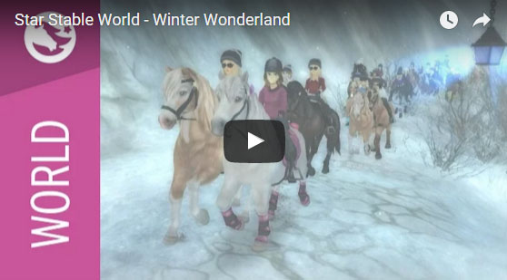Explore the Magical Winter Wonderland in Star Stable