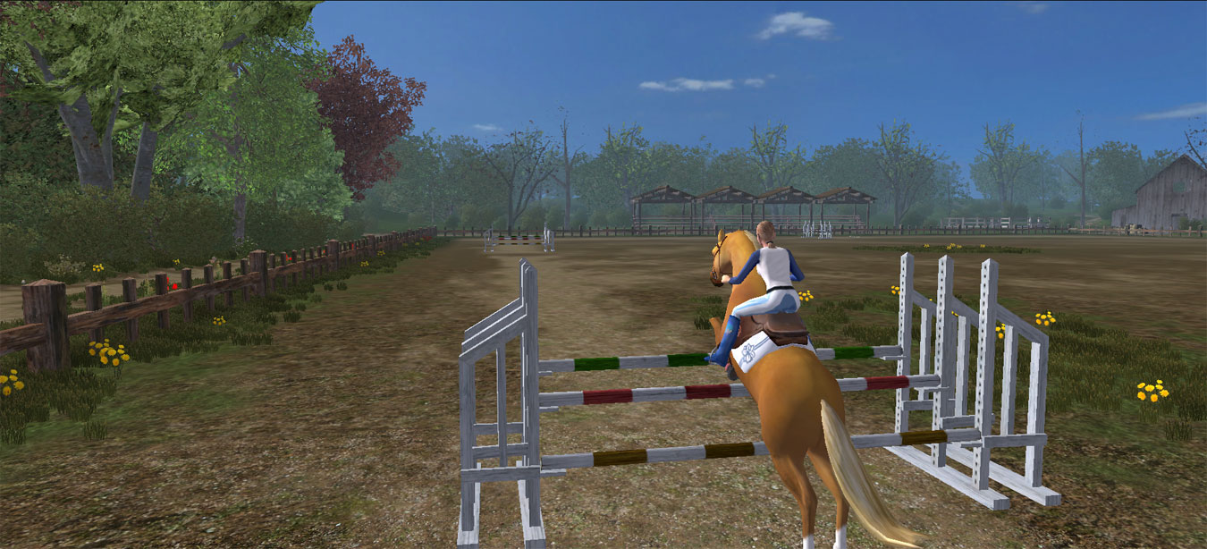 Horse Jumping 2 - Play Horse Jumping 2 on Crazy Games