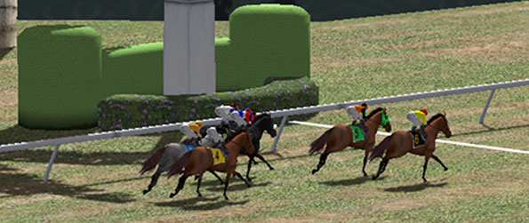 Horse Racing Park - Own a stable full of amazing horses and enter them in races to win massive prizes and popularity.