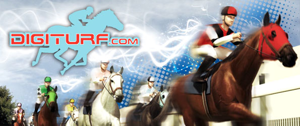 Digiturf - Race competitively with other players' virtual horses for a chance to win a prize of over $330 thousand in real cash in Digiturf