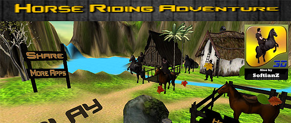 Horse Riding Adventure - Brace you steed for some great adventure, earn multipliers along the way, and earn the highest marks in this wonderful endless runner type of game.