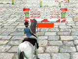 Horse Jumping 3D fun track