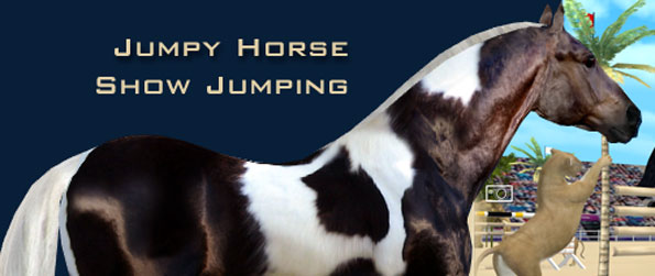 Jumpy Horse Show Jumping - Create your horse and make your own jumping courses to be the best horse owner and to compete with friends in Jumpy Horse Show Jumping!